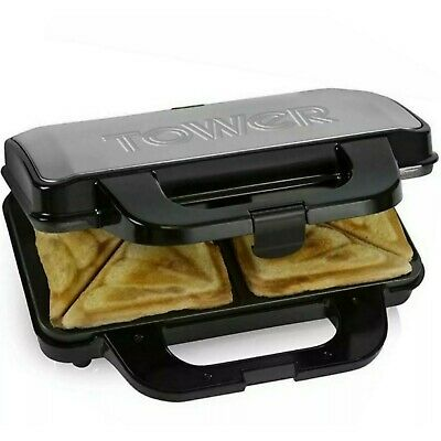 Tower Deep Fill Sandwich Maker (T27013) Ideal For Making 2 Sandwiches At Once • 23.99£