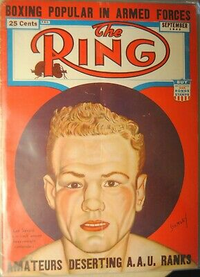 $6.19 • Buy 1942 The Ring Magazine-Heavyweight Contender Lee Savold