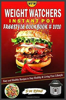 $23.99 • Buy NEW WEIGHT WATCHERS Instant Pot Freestyle Cookbook #2020: Easy And Healthy Recip