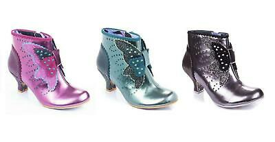 Irregular Choice ''Mariposa'' Ankle Boots Shoes - 3 Colours - Bargain Price • 39.99£