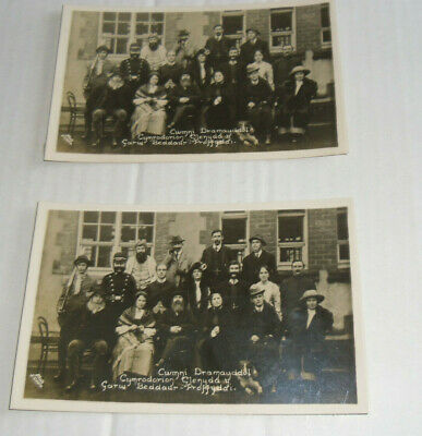 Rp Postcard Of Beddau Amateur Dramatic Group In Costume:unposted. • 6.99£