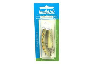 $ CDN30.24 • Buy Kwikfish Jointed K10J PS Color Perch Scale New On Card Old Stock