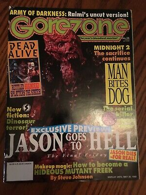$3.75 • Buy Gorezone Magazine Issue # 26 VG Jason Goes To Hell The Final Friday The 13th