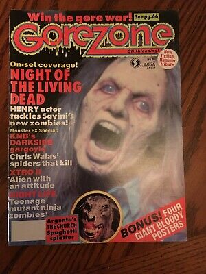 $3.50 • Buy Gorezone Magazine Issue # 16 VG Night Of The Living Dead