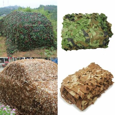 $17.90 • Buy Military Camouflage Netting Hunting Camping Camo Army Net Woodland Desert Leaves