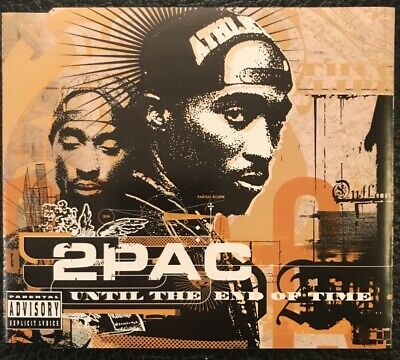 2pac - Until The End Of Time - 4 Tracks Cd Single • 2£