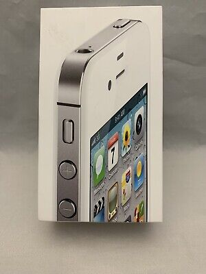 £6.36 • Buy Iphone 4s Original Apple Retail Box Only No Accessories No Phone White