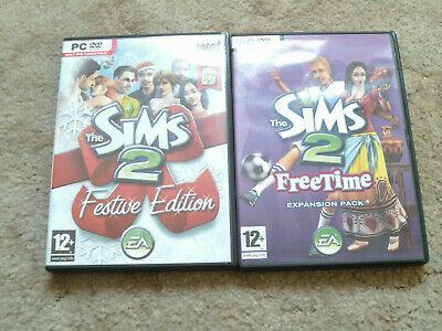 £19.99 • Buy The Sims 2 Festive Edition & Freetime