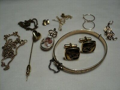$ CDN19.99 • Buy Vintage Gold Filled & Other Misc Pieces Of Jewelry  Lot