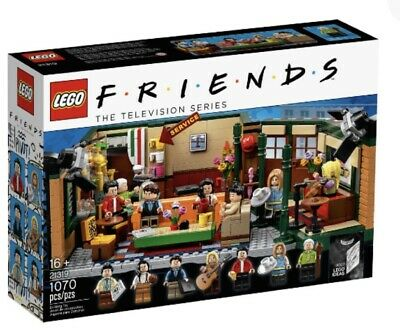 $74.99 • Buy Lego Ideas Central Perk Friends The Tv Series New Sealed 21319 Television Show