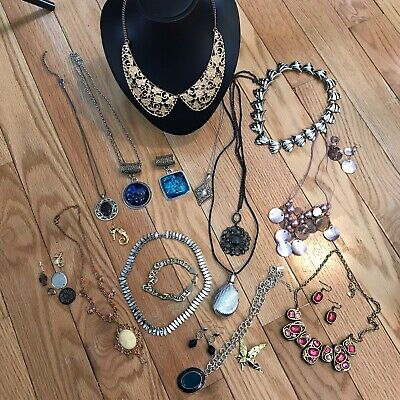 $ CDN9.99 • Buy Costume Vintage Necklace Pendant Junk Drawer Jewelry Lot