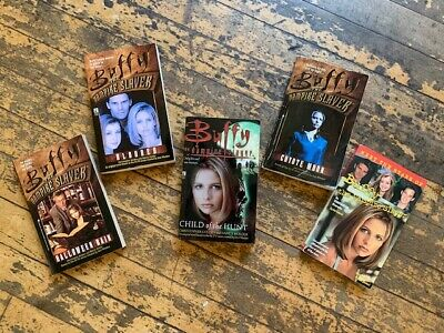 $7.99 • Buy Buffy The Vampire Slayer Paperback Books - Lot Of 5