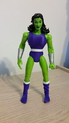 $89.99 • Buy Custom 9 Inch SHE HULK Famous Covers Mego Action Figure  MARVEL COMICS