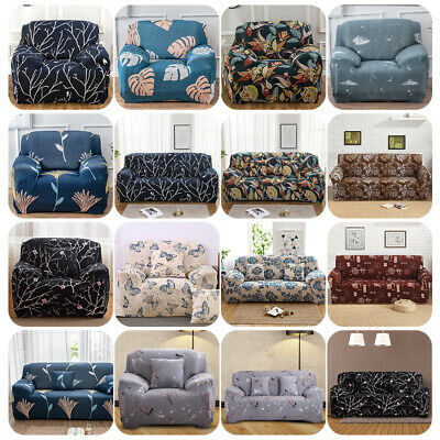 AU27.45 • Buy 1 2 3 4 Seater Stretch Sofa Cover Couch Lounge Recliner Slipcover Protector