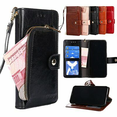 AU24.69 • Buy Leather Wallet Case For OPPO A91 A83 A73 A73S A59 A57 A39 A37 A11 A11X F15 F11