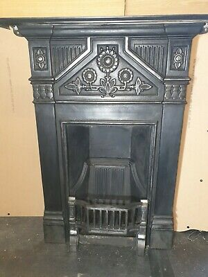 Old Cast Iron Fire Place Victorian Style  Daisy Cast Iron Fireplace By Gallery • 125£