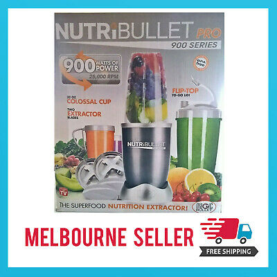 AU94.99 • Buy NutriBullet 900W Juicer Mixer Extractor Vegetable Blender *MELBOURNE STOCK*