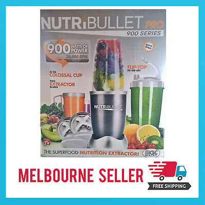 AU81.99 • Buy NutriBullet 900W Juicer Mixer Extractor Vegetable Blender *MELBOURNE STOCK*