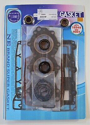 AU102.60 • Buy POWER HEAD GASKET & OIL SEAL KIT FOR YAMAHA 3 CYL 25HP 30HP OUTBOARD MOTOR NE Ge