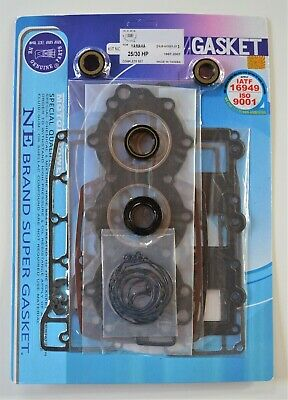 AU116.10 • Buy POWER HEAD GASKET & OIL SEAL KIT FOR YAMAHA 3 CYL 30HP 40HP OUTBOARD MOTOR NE Ge