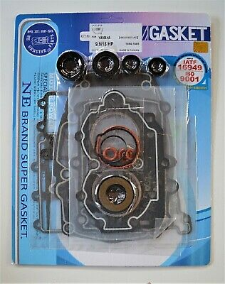 AU160.70 • Buy COMPLETE GASKET & OIL SEAL KIT FOR YAMAHA 2 CYL 9.9-15HP OUTBOARD MOTOR NE Genui