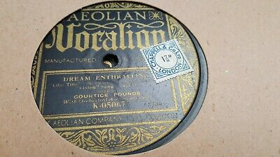 Courtice Pounds Dream Enthralling Vocalion K-05067 • 17.99£