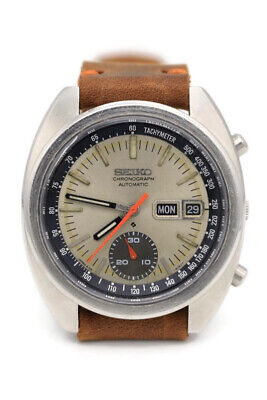 $ CDN402.22 • Buy Vintage Seiko Chronograph 6139-6012 Day/Date Automatic W/ Quickset - 1972 Clean!