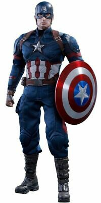 AU1456.94 • Buy Movie Masterpiece Civil War CAPTAIN AMERICA 1/6 Figure Hot Toys NEW From Japan
