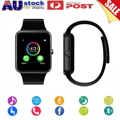 AU19.92 • Buy Bluetooth Smart Watch SIM Phone Call Camera For Samsung IOS IPhone Adults Kids