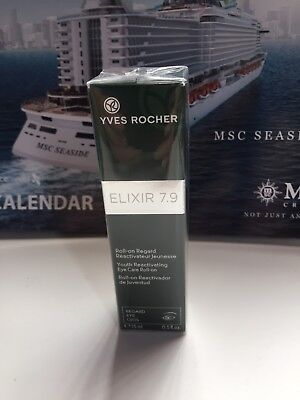 AU37.66 • Buy Elixir 7.9 Youth  Reactivating Eye Care Roll-On Yves Rocher New Gift