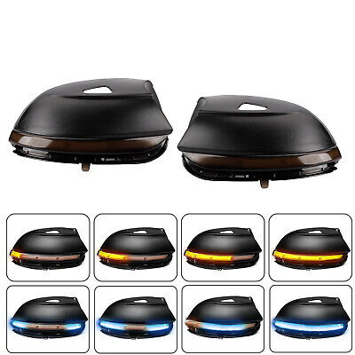 AU55.36 • Buy 2X LED Dynamic Mirror Indicator Turn Signal Light For VW EOS Passat B7 Scirocco