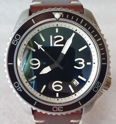 $ CDN697.79 • Buy SEIKO SKX007 Mod  Aviator Style 2  NH36A Leather Strap New Condition