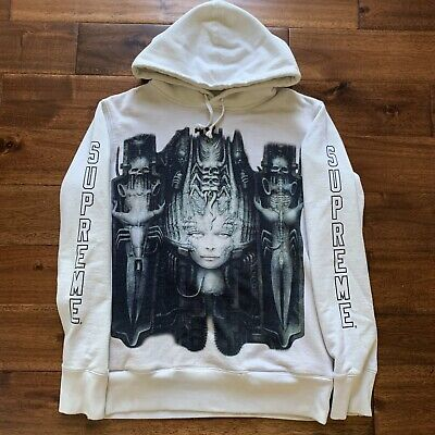 $ CDN407.24 • Buy Supreme HR Giger Hoodie White Small Fw14