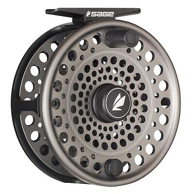 $400 • Buy Sage Trout Spey Reel Stealth/Silver - ALL SIZES - FREE LINE-BACKING - FREE SHIP