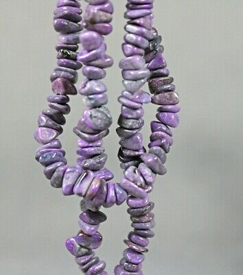 $88.88 • Buy Dkd#38K/ 158.1cts Tumbled Purple Sugilite Necklace (beads)