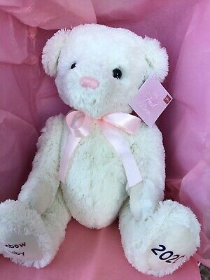 PERSONALISED..Baby's First Teddy Bear Rainbow 2021 • 20£