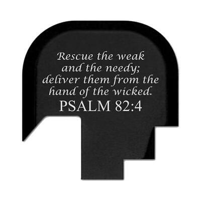 $15.19 • Buy Bastion Rear Slide Gun Back Plate For Smith Wesson M&P 9/.40 Shield - Psalm 82:4