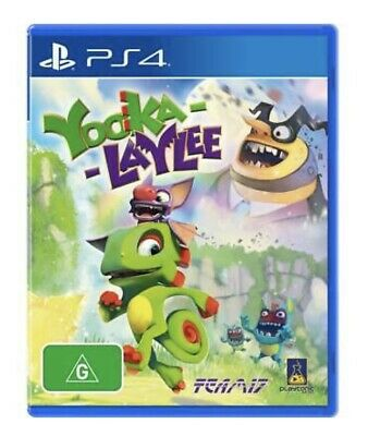 AU20 • Buy Yooka-Laylee PlayStation 4 PS4 GAME BRAND NEW Yooka Laylee