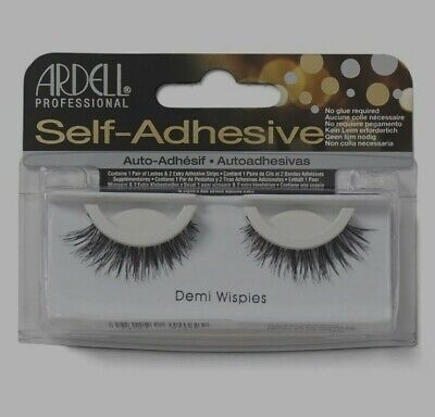£4.49 • Buy Ardell Self-Adhesive False Eyelashes Demi Wispies - With 2 Adhesive Strips