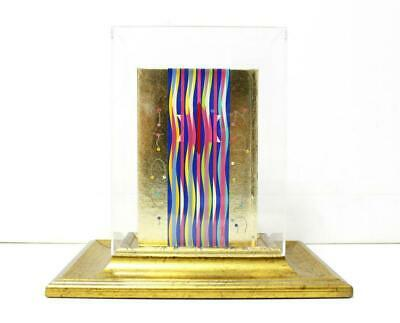 $2000 • Buy Yaacov Agam- Serigraph On Bible  Golden Bible