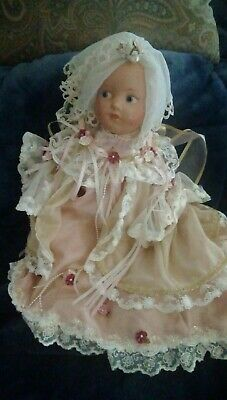$44 • Buy Vintage Composition Eyes Painted 17  Doll. Juliet. Free Ship.