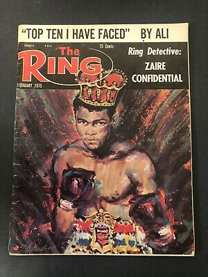 $14.99 • Buy Vtg The Ring Magazine Muhammad Ali Cassius Clay Boxing February 1975