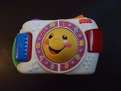 Fisher-Price Laugh & Learn Camera. Educational Learning, Durable, Plastic, • 6£
