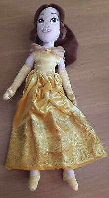 Belle Beauty And The Beast Doll Soft Plush Toy Disney 20 Inch Vgc • 8£