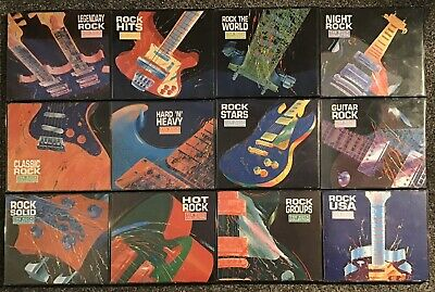 Time Life CD Bundle The Rock Collection (Guitar Solid Hits USA Stars Night World • 59.99£