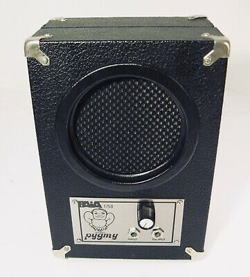 $ CDN221.24 • Buy PAiA Pygmy Amplifier 1750 Vintage '70's Collectible Portable Battery Powered Amp
