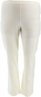 $ CDN15.18 • Buy Women With Control Pull-On Slim Leg Pants Pearl L # A310159