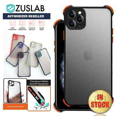 AU7.99 • Buy IPhone 11 Pro MAX XS MAX XR XS X Case ZUSLAB Shockproof Slim Cover For Apple