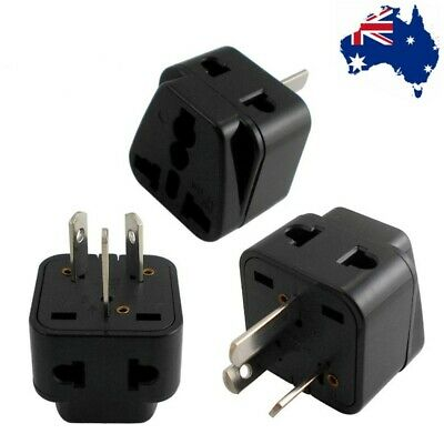 AU5.45 • Buy AU AC Power Plug Adapter Travel 3 Pin Converter Australian