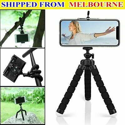 AU7.99 • Buy NEWCamera Phone Holder Flexible Octopus Mini Tripod Bracket Stand For IPhone
